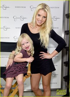 Jessica Simpson Takes Cutest Family Pics at Nordstrom Event