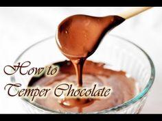 How to Temper Chocolate - Gretchen's Vegan Bakery How To Temper Chocolate, Modeling Chocolate, Salted Caramel Chocolate, Chocolate Desserts, Chocolate Box, Cake Kit, Box Cake, Chocolate Dipped Strawberries, Strawberry Dip