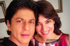 Shah Rukh Khan poses with 'bestest' friend