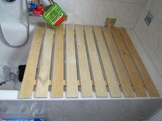 bambus badewannenabdeckung bad pinterest bambus badezimmer und badideen. Black Bedroom Furniture Sets. Home Design Ideas