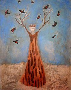 Jeanie Tomanek, 1949 ~ Allegorical/Narrative painter