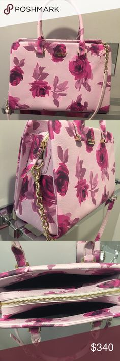 ♠️Kate spade New York♠️Emerson place roses Olivera Beautiful new with tags. Kate spade New York. Color is plumdawn(514). Comes with strap for crossbody option and dust bag. kate spade Bags Crossbody Bags