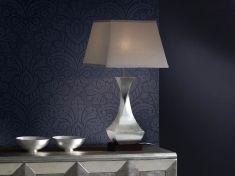 Lámpara de Mesa : Colección DECO Plata