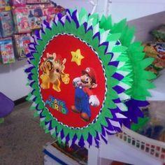 La misma piñata de Mario por la parte trasera  Estamos a la orden en Maracay Edo. Aragua. Tlf: 0243-283-3677 / 431-2825 Whatsapp: 0424-396-0233 #Maracay #piñata #Piñateria #Piñatas #Niños #Niñas #fiestasinfantiles #fiestas #Eventos #Decoración #Tutys