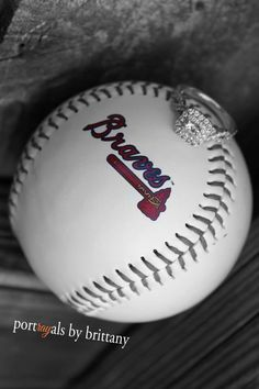 Engagements {baseball theme} @haley van liew Spearsn ; Portrayals by Brittany ©