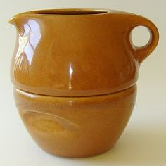 I have this in Nutmeg and Cantaloupe color - Russel Wright stacking creamer & sugar bowl