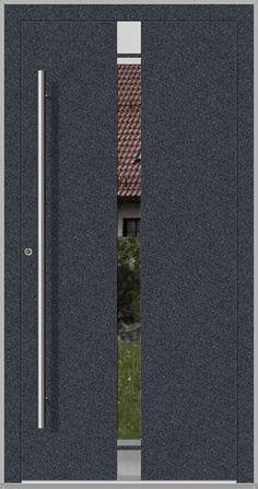 portes entree   porte pvc   porte d entrée simple External Front Doors, External Wooden Doors, Hidden Hinges, Concealed Hinges, Entrée Simple, Exterior Doors For Sale, Modern Front Door, Home Decor Accessories