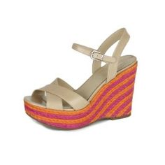 AJM Fashions: Via Spiga Womens Evelina Espadrille Wedge Sandals