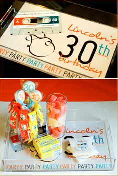 idea for mikes 30th. 80s theme. im pretty sure hed absolutely love that