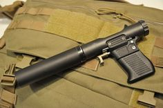 B&T VP9  B&T VP9 is a modern day version of the famed WWII Welrod silenced pistol. Officially meant fot veterinary use, in fact meets the needs of special operation forces worldwide