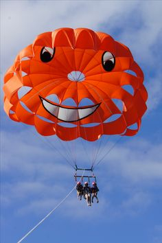 Your'e on Camera Paragliding, Skydiving, Smile, Fun, Smiling Faces, Funny
