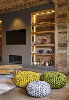 Un appartement comme un chalet à Megève - PLANETE DECO a homes world