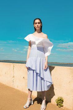 Flow the Label #VogueRussia #resort #springsummer2018 #FlowtheLabel #VogueCollections
