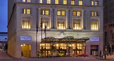 Spend 1 night at the Marriott Courtyard Downtown just across the street from the Flower Show