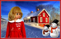 """MY WINTER   -  SEE THE VIDEO OF THIS DOLL:  """"SHOW AND RARE BEAUTY"""""""