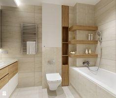Łazienka Kraków. - Średnia łazienka w bloku w domu jednorodzinnym bez okna, styl nowoczesny - zdjęcie od All Design Agnieszka Lorenc