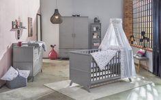 Chambre de bébé intemporelle et évolutive : la chambre Vicky Grey de Schardt