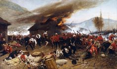 The defense of Rorke's Drift saw 139 British soldiers hold out against 5,000…