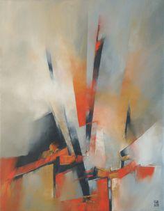 "Saatchi Art Artiste: Francisco Silva Torrealba; Huile 2013 Peinture ""Boîte de surprises 1"""