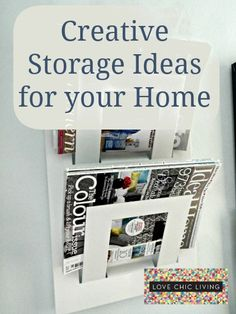 Find lots more storage space in your home that you never knew you had!