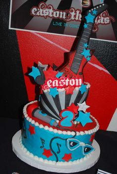 Rockstar for Boy Birthday Party Ideas   Photo 17 of 19   Catch My Party
