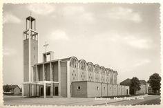 Church Facade Shape  Maria Regina church, Eindhoven, M.H.J. van Beek, 1958 (demolished)