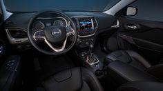 Jeep Cherokee interior rendered in KeyShot by Tim Feher.