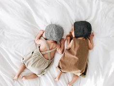 """""""""""yay! tummy time!!"""" —said no baby ever. // these @briarhandmade bonnets tho... """""""