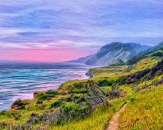 Dominic Piperata - Sunset Bluffs at Big Sur