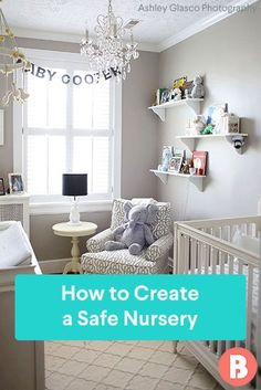 Here, some practical nursery safety tips to keep in mind when setting up baby's room. Nursery Set Up, Nursery Room, Nursery Decor, Nursery Ideas, Room Ideas, Bedroom, Baby Safety, Safety Tips, Nursery Safety