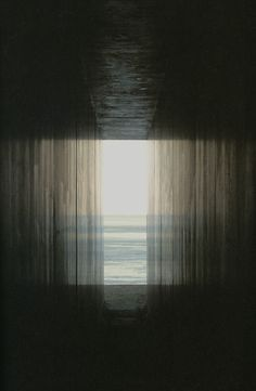 Hiroshi Sugimoto, View from the passage toward the exit.