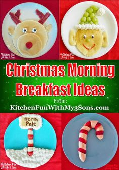 Kitchen Fun With My 3 Sons: Christmas Morning Breakfast Ideas...they are easy & a huge hit with the kids! #christmas #breakfastideas #recipes