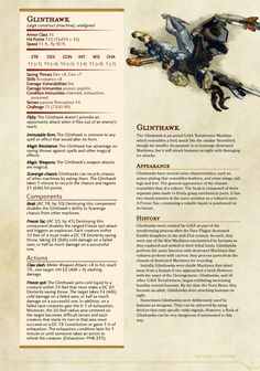 Bospa city guard can call forth these Myths & Monsters, Dnd Monsters, Monster Characters, Dnd Characters, Dnd Stats, Robot Monster, Dnd 5e Homebrew, Dragon Rpg, Pathfinder Rpg