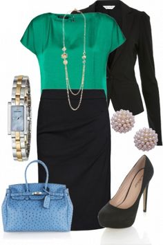 Who says interview attire has to be boring? Make an impression by looking sharp AND adding color.