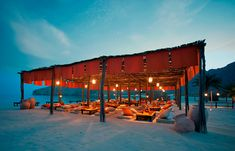 Shua Shack - Authentic Arabic Dining Experience. Six Senses Zighy Bay, Oman. © Six Senses