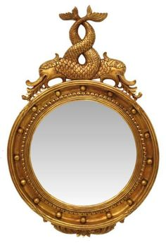 Posts about Antiques written by daseger Nautical Mirror, Victorian Style Homes, Convex Mirror, Photo Backgrounds, Design Inspiration, Design Ideas, Living Room Designs, Reflection, Antique Mirrors