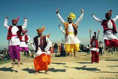 Bhangra PUNJABI folk Dance # Rangla PUNJAB India