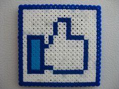 Perler Facebook Like by Slimer530