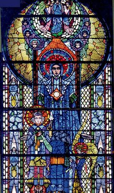 Harry Clarke Windows At St. Mel's Cathedral - Ireland