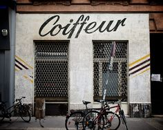 Coiffeur | Vienna. signage.