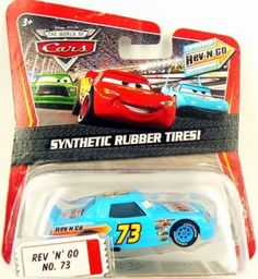 Disney / Pixar CARS Movie 1:55 Die Cast Car Motor Speedway of the South #73 Rev-N-Go by Mattel. $14.77. Diecast. KMart Exclusive. Synthetic Rubber Tires. 1:55 Scale. Available only at KMart Collector Event.