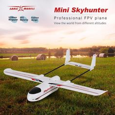 Sonicmodell Micro Mini Skyhunter 1238mm Wingspan EPO FPV RC Airplane KIT V2 Version  Price: 84.99 & FREE Shipping #computers #shopping #electronics #home #garden #LED #mobiles #rc #security #toys #bargain #coolstuff |#headphones #bluetooth #gifts #xmas #happybirthday #fun Rc Airplane Kits, Tails Boom, Best Rc Cars, Trailer Plans, Electronic Parts, Wings Design, Rc Model, Boat Plans, Radio Control