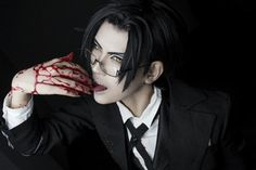 The Spider's Hunger (Claude x Modern! Cosplay Anime, Epic Cosplay, Male Cosplay, Amazing Cosplay, Cosplay Outfits, Cosplay Costumes, Black Butler Cosplay, Black Butler 3, Black Butler Anime
