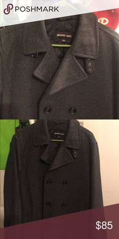 Michael Kors Men's Peacoat - New New without tags! Never worn. Size large. Michael Kors! Make an offer Michael Kors Jackets & Coats Pea Coats