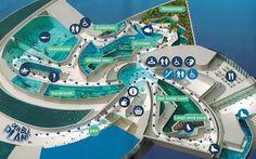 Aquarium The blue planet in Copenhagen, Denmark Aquarium Architecture, Architecture Drawings, Architecture Design, Blue Planet Aquarium, Exhibition Plan, The Blue Planet, Aquarium Design, Maritime Museum, Parking Design