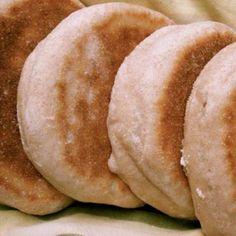 Receta de Muffins ingleses. Valorada en 5/5 por los votos de 2 usuarios. ¡Pruébala!