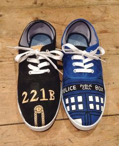 Hey, I found this really awesome Etsy listing at https://www.etsy.com/listing/173668793/wholock-shoes-doctor-who-and-sherlock