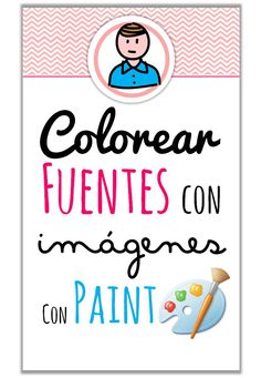 Creative Mindly: Colorear fuentes con imágenes