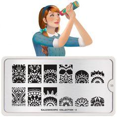 MoYou Plaque de stamping Kaleidoscope 11