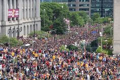 Watch Celebrating the Cleveland Cavaliers with parade and rally!